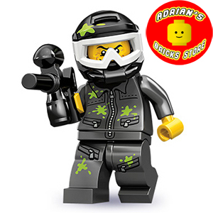 LEGO MF10-09 - Paintball Player