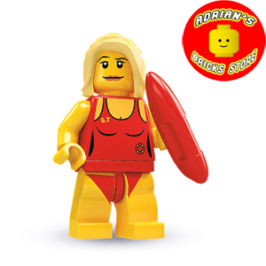 LEGO MF02-08 - Lifeguard