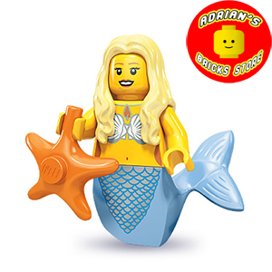 LEGO MF09-12 - Mermaid