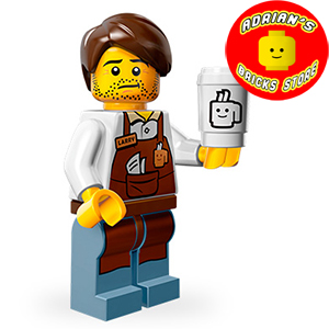 LEGO MFTLM-10b - Larry the Barista (New - Unsealed)