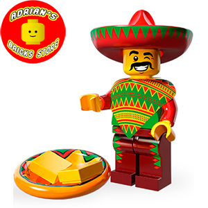 LEGO MFTLM-12 - Taco Tuesday Guy