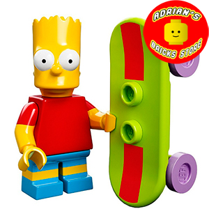 LEGO MFSIM-02 - Bart Simpson