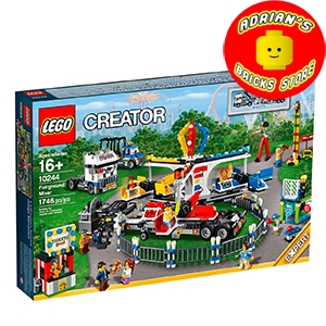 LEGO 10244 - Fairground Mixer Image 0