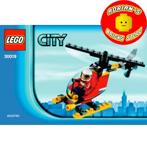 LEGO 30019 - Fire Helicopter Image 0