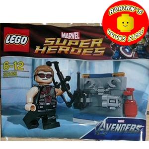 LEGO 30165 - Hawkeye with Equipment Image 0