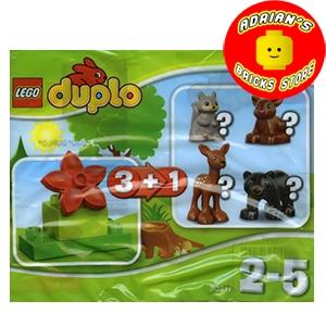 LEGO 30217a - Forest (Deer) Image 0
