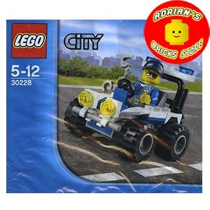 LEGO 30228 - Police ATV Image 0