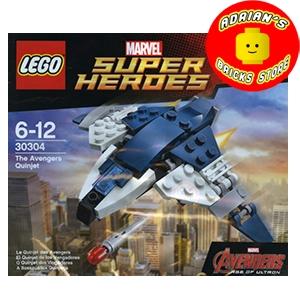 LEGO 30304 - The Avengers Quinjet Image 0