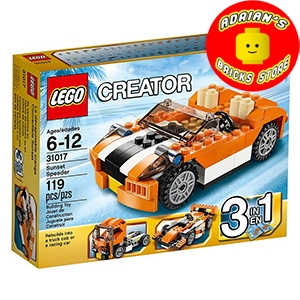 LEGO 31017 - Sunset Speeder Image 0