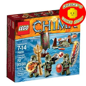 LEGO 70231 - Crocodile Tribe Pack Image 0