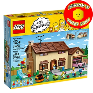 LEGO 71006 - The Simpsons House Image 0
