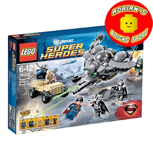 LEGO 76003 - Superman: Battle of Smallville Image 0
