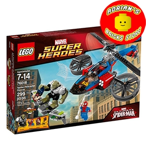 LEGO 76016 - Spider-Helicopter Rescue Image 0