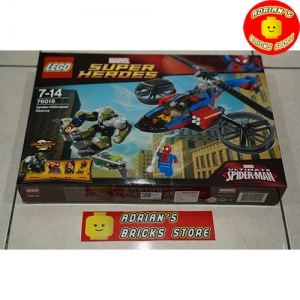 LEGO 76016 - Spider-Helicopter Rescue Image 1