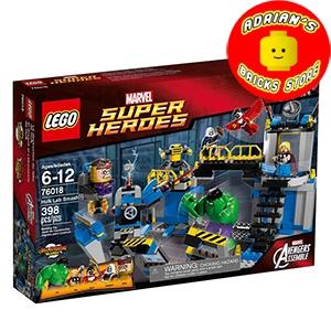 LEGO 76018 - Hulk Lab Smash Image 0