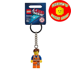 LEGO 850894b - The Lego Movie Emmet Key Chain Image 0