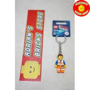 LEGO 850894b - The Lego Movie Emmet Key Chain Image 1