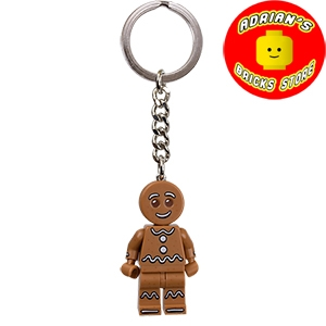 LEGO 851394 - Collectible Minifigures Gingerbread Man Key Chain Image 0