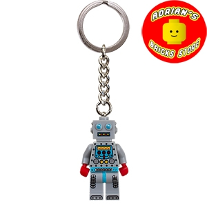 LEGO 851395 - Collectible Minifigures Clockwork Robot Key Chain Image 0