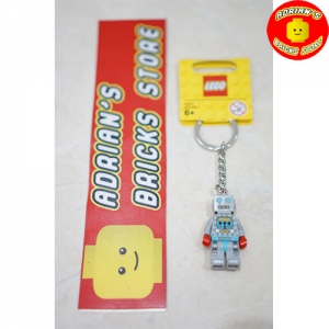 LEGO 851395 - Collectible Minifigures Clockwork Robot Key Chain Image 1
