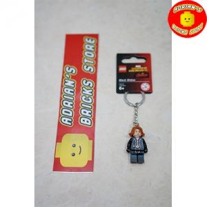 LEGO 853592 - Black Widow (Civil War version) Key Chain Image 1