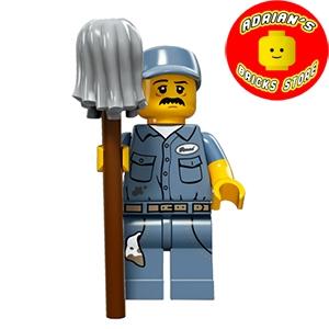 LEGO MF15-09 - Janitor Image 0